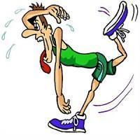 Marathon runner 200x200